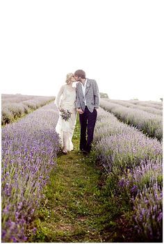 An inspirational bridal photoshoot at the Mayfield lavender fields in Surrey. Styling by London Bride and photography by Eddie Judd