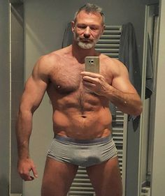 pics of hot older men collected over the years from various newsgroups and websites. NSFW if anything here is your property I will take it down - but you may still have to spank me. Handsome Older Men, Scruffy Men, Hairy Men, Older Man, Daddy Tumblr, Hot Dads, Silver Foxes, Love Dad, Muscle Hunks