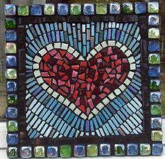 Ceramic and Glass Garden Decor Mosaic