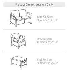 Modern Sofa Resultado de imagem para sofa chair measurements