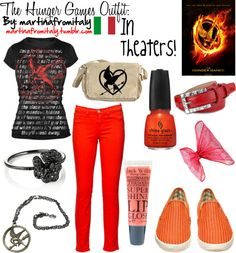 """The Hunger Games Outfit"" by martinafromitaly ❤ liked on Polyvore"