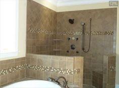 Open Shower Bathroom Layout Open Showers Master Bath