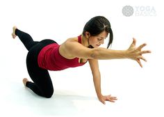 Photos, instructions, benefits, modifications and variations for practicing…
