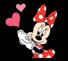 This set of animated stickers features Minnie Mouse doing what she does best - looking absolutely adorable. The cutest mouse around has never looked better! Use these stickers to light up your chats with her dazzling smile and classy fashion sense. Minnie Mouse Pictures, Mickey Mouse Images, Mickey Mouse Cartoon, Mickey Mouse And Friends, Mickey Minnie Mouse, Disney Mickey, Hug Gif, Classic Cartoon Characters, Cute Love Gif