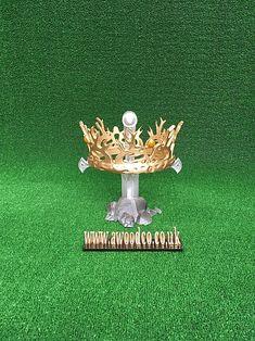 Game of Thrones Royal crown of Joffrey Baratheon, Printed Prop Maker, Crown Royal, Uk Shop, Aurora, 3d Printing, Christmas Ornaments, Game, Printed, Holiday Decor