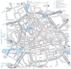 Aix en Provence Map. With M. L. Wordsworth in Murder in the Rue Dumas