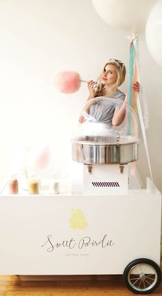 Sweet Birdie Cotton Candy Cart | Minneapolis @sweetbirdiecottoncandy