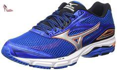 Mizuno Wave Legend 4 - Chaussures de Running Compétition homme - Bleu - Blue (Skydiver/Silver/Clownfish) - 41.5 EU - Chaussures mizuno (*Partner-Link)
