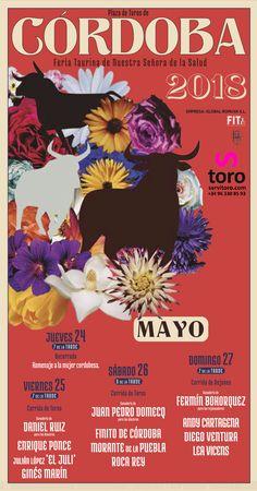 Feria de Nuestra Señora de La Salud. La Feria taurina de Córdoba 2018. #toros #cartel #spain #bullfight #Cordoba