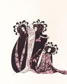 Illustration by Alastair (Hans-Henning von Voigt) for 1922 edition of Salome by Oscar Wilde, via Au carrefour étrange