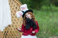 Hey, I found this really awesome Etsy listing at https://www.etsy.com/listing/230129898/rabbit-top-hat-march-hare-wired-furry