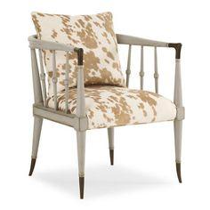 Hide Nor Hair Chair - Caracole Furniture