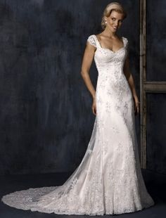 wedding dresses wedding dresses with straps wedding dresses knee length 2014 style empire sweetheart court trains sleeveless lace wedding dress for brides