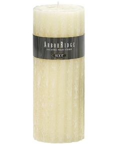 Root Unscented ArborRidge Pillar Candle, 3-Inch by 7-1/2-Inch, Honeycomb *** Click image to review more details. (This is an affiliate link and I receive a commission for the sales)