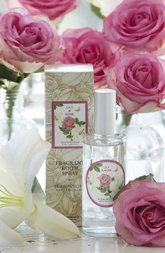Garden Collection: Lily & Rose// Warm exotic notes of Rose Maroc and Ylang-Ylang are complimented with sheer undertones of Indonesian Musk.