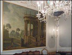 Venezia / Venice: inside the Palazzo Labia by wwwuppertal, via Flickr