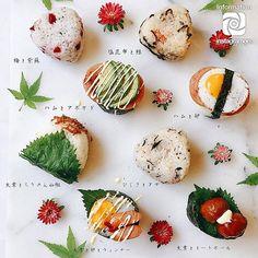 Temari Sushi, Kimbap, Rice Balls, Food Combining, Picnic Foods, Culinary Arts, Cute Food, Food Presentation, Gourmet