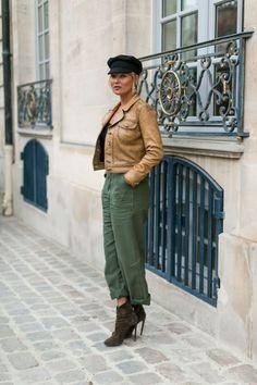 Kate Moss - Paris street style