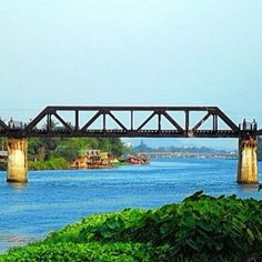 The bridge of the river Kwai,Karnchanaburi,Thailand - @Sasina Savells- #webstagram