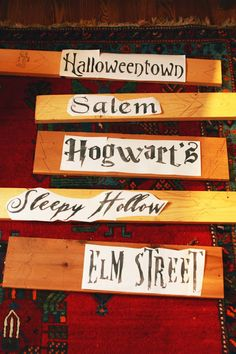 DIY Halloween Yard Sign From Scraps!