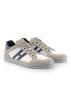 HOGAN REBEL Men's Spring - Summer 2013 collection: suede sneakers R141.