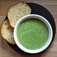 The Walsh Cookbook: Spinach and Fontina Soup - Erin