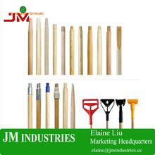 high quality varnished wooden broom handle for cleaning tools