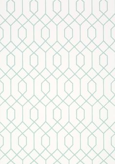 Another elegant geometric style from the US design house Thibaut, La Farge is a striking straight-lined and interlinking hexagonal lattice pattern, which stands out in its intensity. Taken from Thibaut's newly-released Graphic Resource collection it's jus Wall Stencil Patterns, Pattern Wallpaper, Print Patterns, Background Design Vector, Geometric Background, Geometric Patterns, Textile Patterns, Wallpaper Ceiling, Geo Wallpaper