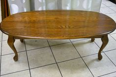 """'Shermag' Solid Oak Oval Coffee Table - """"A good size Oval Coffee Tables, Solid Oak, Home Furnishings, Singing, Dining Table, Lady, Furniture, Home Decor, Decoration Home"""