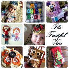 6780d9fd47 Mom s Handmade  Quiet Books. Fidget BlanketsGrab BagsBusy ...