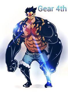 One Piece, Luffy Gear 4 #manga