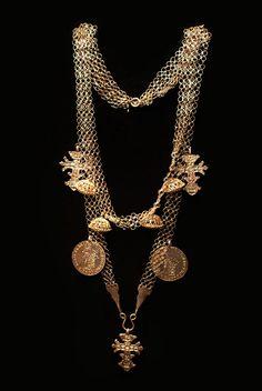 Female neck ornament. Estonians - Setu. Pskov Province. 18th - early 19th century.
