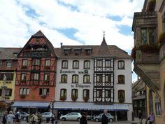 Obernai. Plaza del mercado.