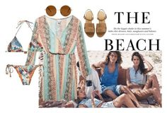 The Beach H&M by amayad-14 on Polyvore featuring polyvore, fashion, style, Wet Seal, Lenny, Forever 21, H&M and clothing