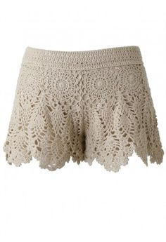 crochet shorts, pattern inspiration