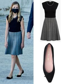 Waist Skirt, Midi Skirt, High Waisted Skirt, New York Socialites, Princess Of Spain, Spanish Royal Family, Royal Fashion, Skirts, Hair