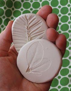 Perfect for salt dough... Fossils!