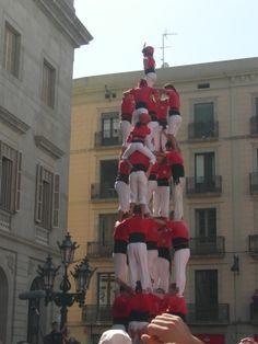 Colla Castellera de Barcelona. Festes de La Mercè 2013. Barcelona. Plaça Sant Jaume. #cdbcn