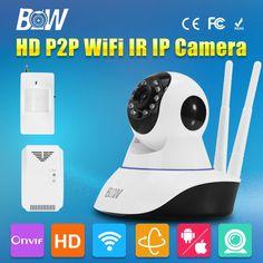 63.75$  Buy here - http://alizp3.worldwells.pw/go.php?t=32662183986 - Security Wireless Wifi IP CCTV Camera P2P Two Way Audio PTZ GSM Burglar Linkage Alarm Video Surveillance Camera 3.6mm Endoscope 63.75$