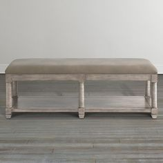 Compass Upholstered Bench by Bassett Furniture