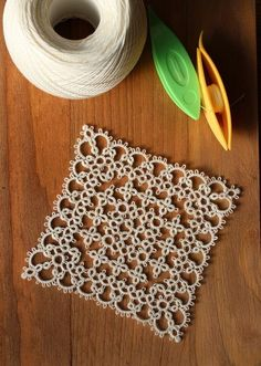 Discover thousands of images about Photo Tatting Jewelry, Lace Jewelry, Tatting Lace, Shuttle Tatting Patterns, Needle Tatting Patterns, Crochet Motif, Crochet Patterns, Mad Tatter, Tatting Tutorial
