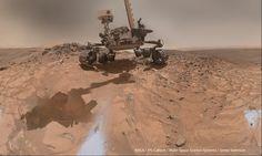 MSL Curiosity Sol-1065 MAHLI Landing Anniversary Selfie