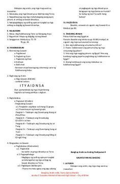 Banghay aralin sa araling panlipunan 9 4a's Lesson Plan, Lesson Plan Examples, Daily Lesson Plan, Teacher Lesson Plans, Lesson Plan In Filipino, Life Hacks For School, Math Lessons, Social Studies, High School