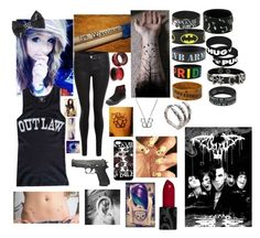 """""""BVB is life ❤"""" by rapid-roxy-22 ❤ liked on Polyvore featuring INC International Concepts, J Brand and Bernard Delettrez"""