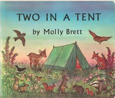 """Two in a Tent"" by Molly Brett ~ Medici 1969"