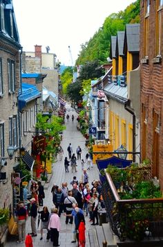 Take a Walking Tour in Quebec City. Walking tours are the best way to know a city when you travel. Quebec City is a great place to explore outdoor adventures, see historic sites, and eat amazing food!