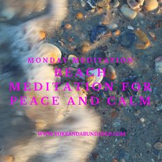 Beach Meditation for Peace and Calm