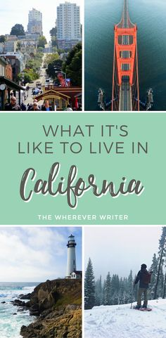 Moving to California? Find out what it's like to live in California, particularly the San Francisco Bay Area, from a local! California Travel Tips