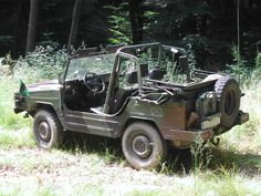 The VW Iltis, unbreakable. I loved this pure off roader. Convertible to the max.