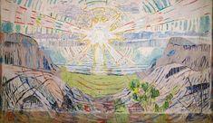 The Sun 1910-11 Munch Museum, Oslo, Norway - munch